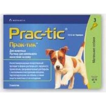 Прак-тик (Еланко) для собак 4,5-11 кг (3 пипетки)