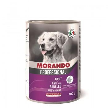 Morando / Морандо Professional консервированный корм для собак паштет с бараниной, 400г, жб