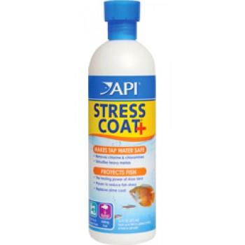 API / АПИ Стресс Коат - Кондиционер для декоративных рыб и воды Stress Coat, 118 ml