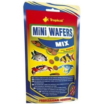 Tropical / Тропикал 665336/85921 корм для рыб и других придонных животных (чипсы) MiNi Wafers Mix 90гр