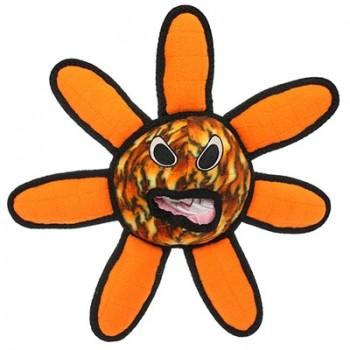 Tuffy / Таффи Супер прочная игрушка для собак Инопланетный шар-цветок, пламя, прочность 8/10