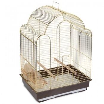 Triol / Триол Клетка 9100G для птиц, золото, 420*300*560мм