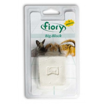 Fiory / Фиори био-камень для грызунов Big-Block с селеном 100 г