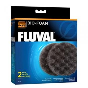 Hagen / Хаген Губка для механической и биологической очистки для фильтров FLUVAL FX5/FX6, 2 шт/упак.