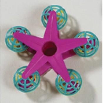 Hagen / Хаген игрушка для птиц - звезда с шариками и колокольчиками