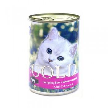 "Nero Gold / Неро Голд для кошек ""Сочная говядина"" 0,81 кг"