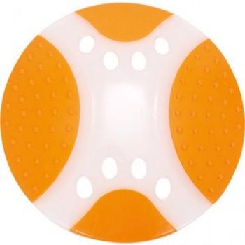 """Игрушка """"Грызлик Ам"""" Тарелка летающая Frisbee Dental Nylon Размер 23 см, Цвет Оранжевая, Материал Нейлон"""