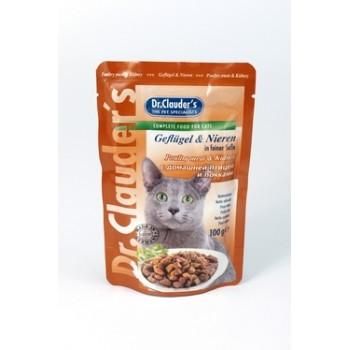Dr.Clauder's / Др.Клаудер'c кон.д/кошек Домашняя птица/почки 100гр