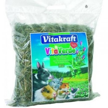 Vitakraft / Витакрафт Vita Verde Луговое сено с мятой перечной 500г