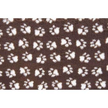 ProFleece коврик меховой 1х1,6м шоколад/крем