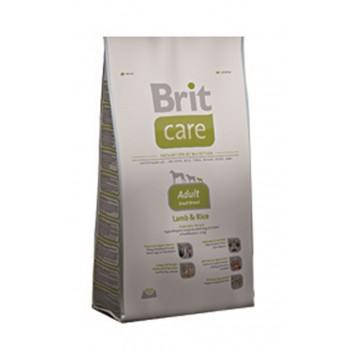 Brit / Брит Care Adult Small Breed д/взросл,собак мелких пород, ягненок с рис, 1 кг