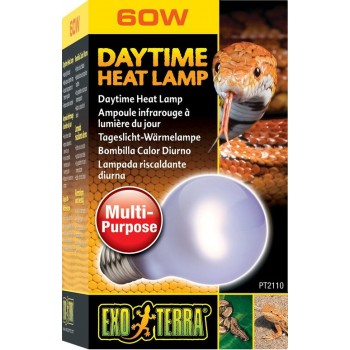 Exo Terra / Экзо Терра Лампа неодимовая дневного света Daytime Heat lamp  60 Вт. PT2110