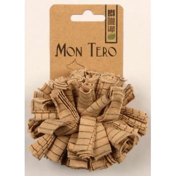 """Mon Tero / Мон Теро ЭКО игрушка для собак """"Мяч"""" малый, 7 см, тряпичный"""
