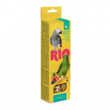 РИО Палочки для попугаев с фруктами и ягодами, 2х75 гр