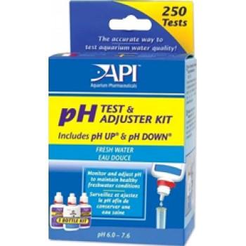 API / АПИ рН Тест Кит - набор для измерения и изменения уровня pH в пресной воде Freshwater Deluxe pH Test Kit