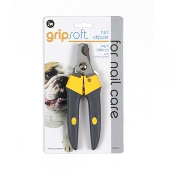 JW Когтерез с ограничителем, для собак, большой Grip Soft Large Deluxe Nail Clipper (65016)