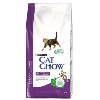 """Cat Chow / Кэт Чоу """"Special Care"""" сухой 15 кг для кошек Контроль шерсти"""
