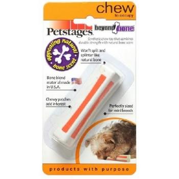 Petstages / Петстейджес игрушка для собак Beyond Bone с ароматом косточки 8 см очень маленькая