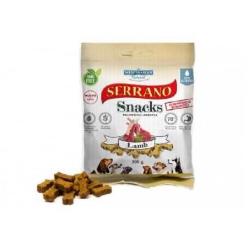 Serrano / Серрано Snacks Лакомство для Собак снеки из мяса Ягненка 100 гр