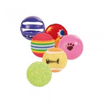 Trixie / Трикси 4523 Набор мячиков ф3,5см-4см 6шт