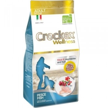 CROCKEX / КРОКЕКС Wellness сухой корм для собак мелких пород 7,5 кг рыба с рисом MCF3207