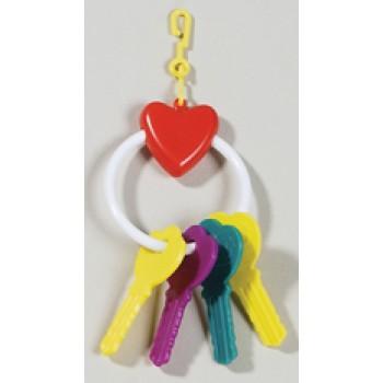 Hagen / Хаген игрушка для птиц - сердечко с ключами