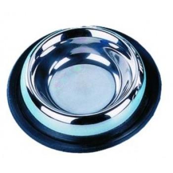 Nobby / Нобби Миска металл резиновое основание 0,45л 16см (1х6) 72901