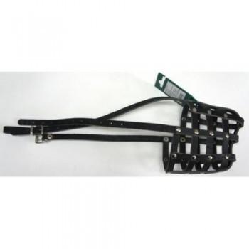 Аркон Намордник кожаный 32, размер 32см, цвет черный, н32ч (31999)