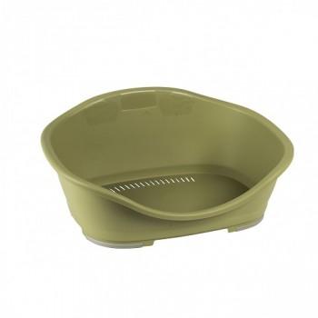 Stefanplast / Стефанпласт Пластиковый Лежак Sleeper 2: 55*37*26 см, зеленый (97829)