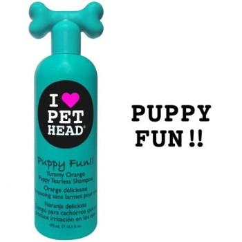 """Pet Head Шампунь Цитрусовый """"Щенячий восторг"""" без слез, без сульфатов и парабенов (Puppy Fun) PH10102"""