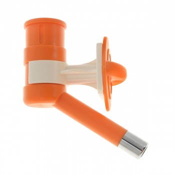 HERCHY Автопоилка универсальная, оранжевая (под ПЭТ бутылку) 378-9