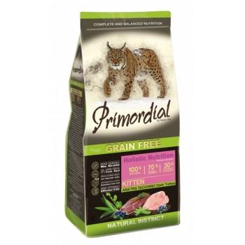 PRIMORDIAL / ПРИМОРДИАЛ Корм сух для котят б/зерн утка индейка 400 гр