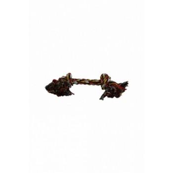 """Papillon / Папиллон Игрушка для собак """"Веревка с 2 узлами"""", хлопок, 45см"""