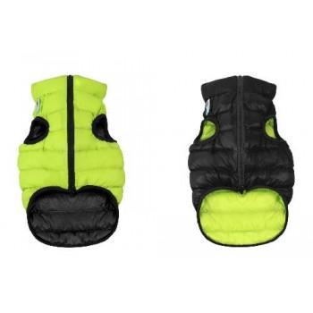 AiryVest / ЭйриВест курточка двухсторонняя, размер L 65, салатово-черная