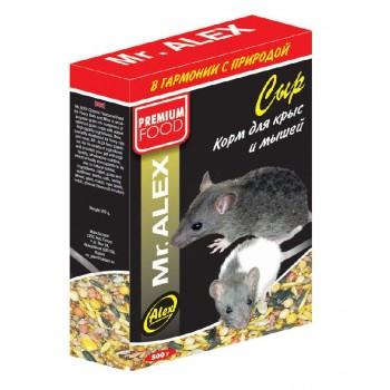 "Mr. Alex / Мр. Алекс корм д/крыс и мышей ""Сыр"" 500 гр"