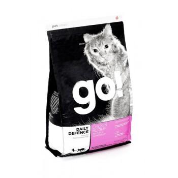 Go! / Гоу! Для котят и кошек с Цельной Курицей, фруктами и овощами 1,82 кг