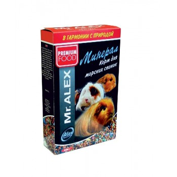 "Mr. Alex / Мр. Алекс корм для морских свинок ""Минерал"" 500 гр"