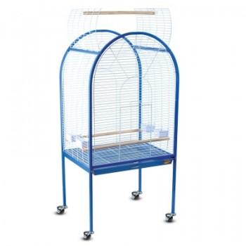 Triol / Триол Клетка BC02 для птиц, эмаль, бело-синяя, 780*600*1560мм