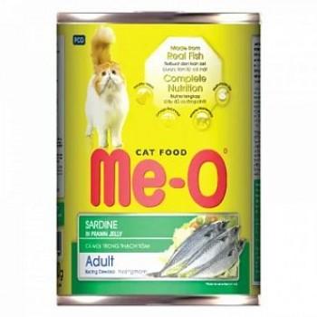 Ме-О Adult кон.д/кошек Сардины 400г 2104