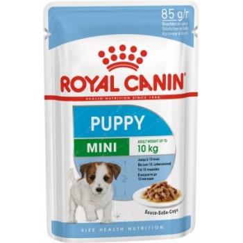Royal Canin / Роял Канин Mini Puppy корм для щенков мелких пород c 2 до 10 месяцев (соус), 85 гр