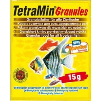 TetraMin / Тетра Granules корм для всех видов рыб в гранулах 15 г (sachet)