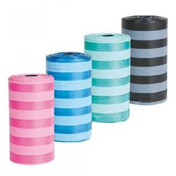 Trixie / Трикси 23478 Набор пакетов для уборки за животными, 14 рулонов по 15 шт, цветные, для всех диспенсеров
