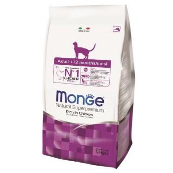 Monge / Монж Cat корм для взрослых кошек 1,5 кг