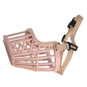 Triol / Триол Намордник пластиковый с нейлоновым ремешком №3, 55*40*90мм