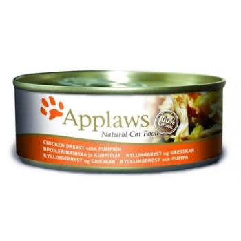 Applaws / Эпплаус Консервы для кошек с Куриной грудкой и Тыквой 0,156 кг