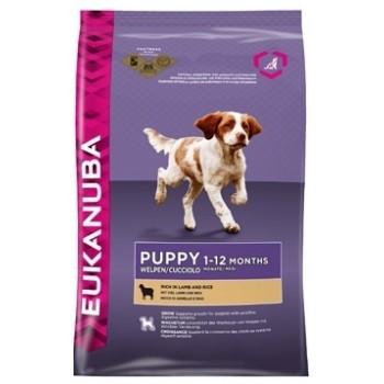 EUKANUBA / Еукануба Dog корм для щенков всех пород ягненок 2,5 кг