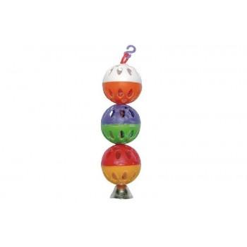 Darell / Дарэлл Игрушка для попугая - шарики с колокольчиком 5033