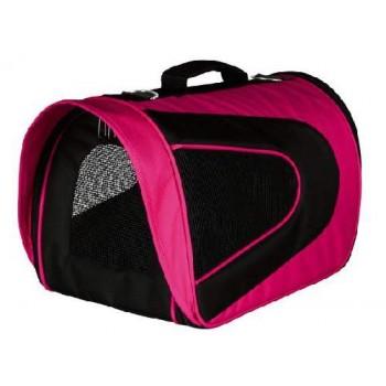 "Trixie / Трикси 28966 Сумка-переноска ""Alina"" 22х23х35см нейлон розовый/черный"