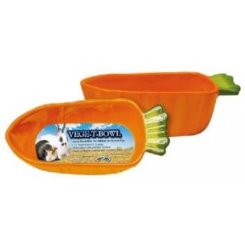 "Super Pet Миска керамич. ""Морковка"" д/грыз. диам.18,5 см, 620 мл. 61844"