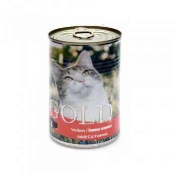 "Nero Gold / Неро Голд для кошек ""Свежая оленина"" 0,41 кг"